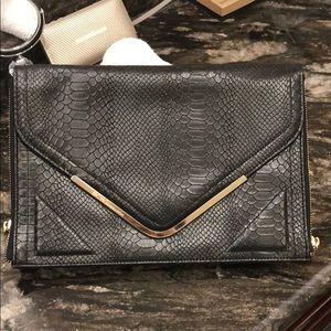 BCBGeneration Clutch 🐍 Print Leather